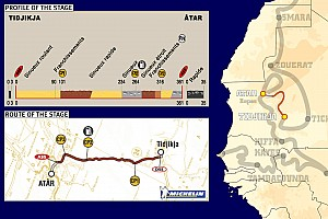 Dakar: Stage 9 Tidjikja to Atar notes