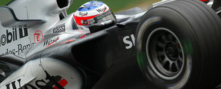 Formula 1 McLaren flies in final German GP practices