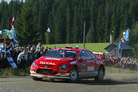 Gronholm back on top in Rally Finland