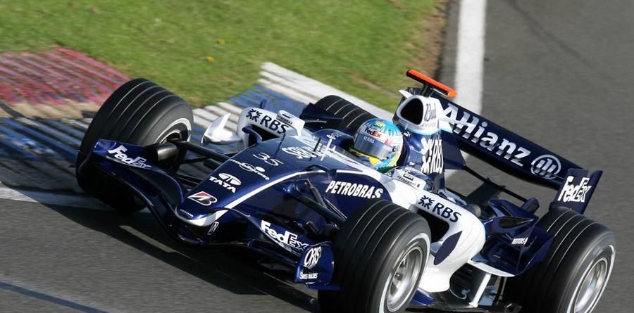 Wurz kicks off Chinese GP weekend