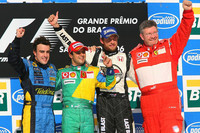 Massa wins Brazilian GP, Alonso is champion