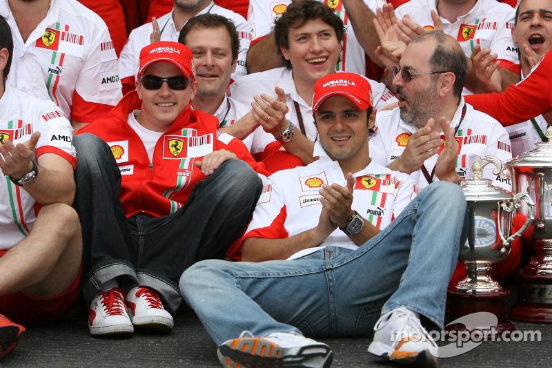 Ferrari pushing hard to develop car