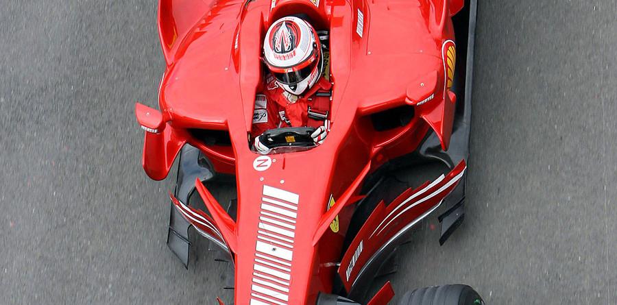 Raikkonen top in British GP last practice