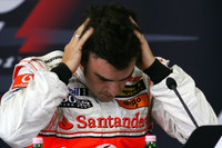 Alonso demoted five places, McLaren penalized