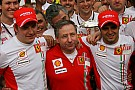 Todt pays tribute to drivers and team