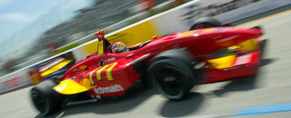Wilson stays on pole for final Champ Car race
