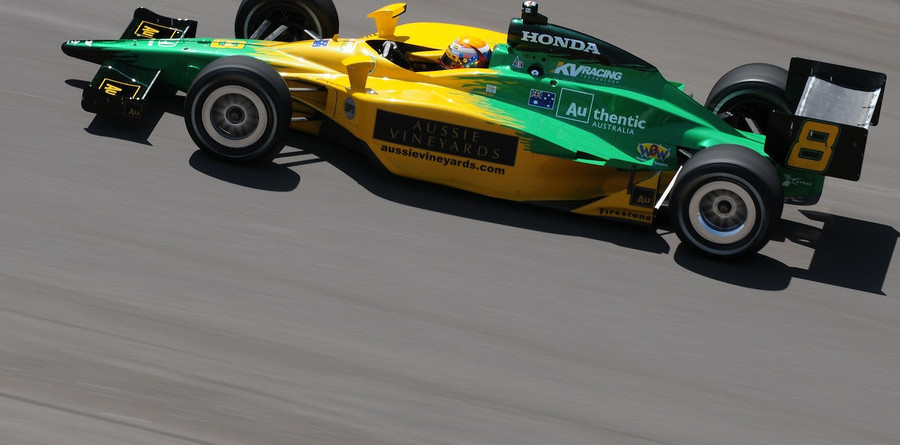 Power leads rookie Opening Day at Indy