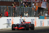 Kovalainen takes surprise victory in Hungary
