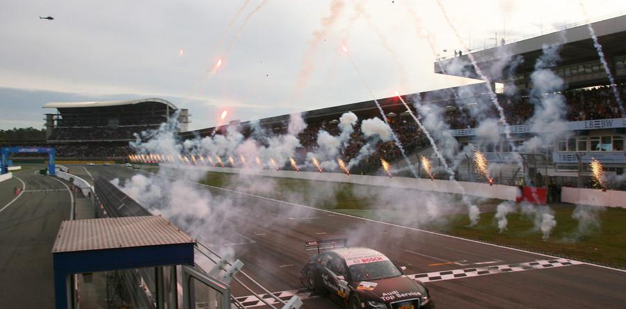 Scheider, Audi take Hockenheim and the title
