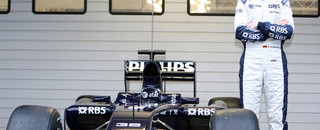 Formula 1 Williams launches, tests the FW31 in Portugal
