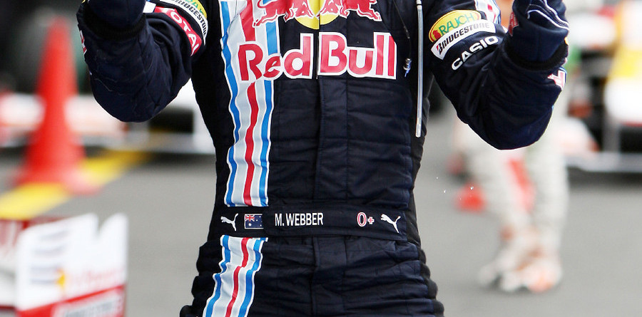 Webber leads Red Bull sweep in Germany
