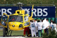 Hungarian pole to Alonso, Massa to hospital