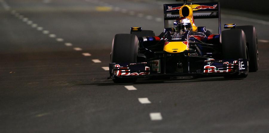 Vettel fastest in Singapore night practice