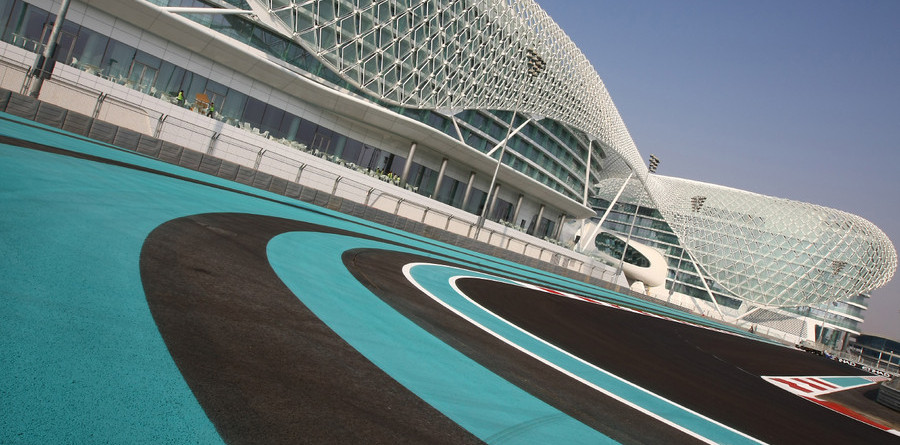 Formula One races into the desert sunset of Abu Dhabi