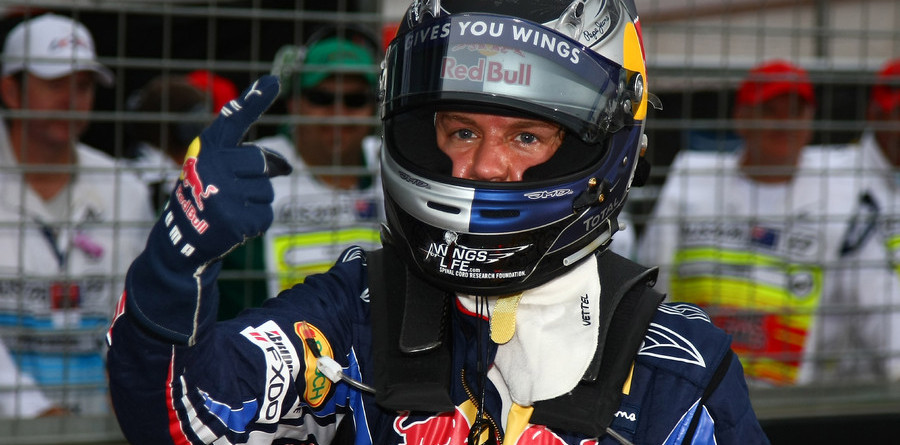 Vettel leads Red Bull 1-2 qualifying in Australia