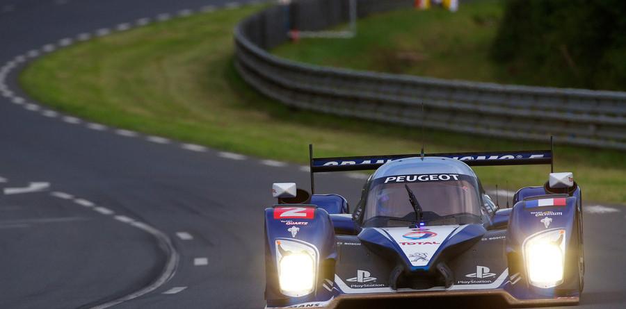 Peugeot dominates Le Mans opening practice