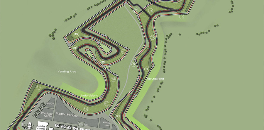 Details of US GP's Austin track lay-out revealed
