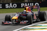 Vettel dominant in Brazilian GP Friday practices
