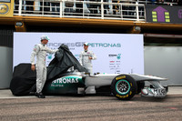 Mercedes GP presents Silver Arrow MPG W02 in Valencia