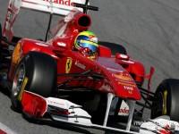 Massa fast in Barcelona's final February test days