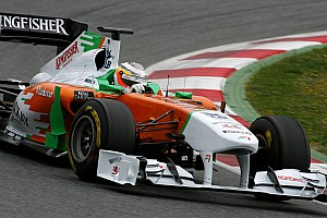 Formula 1 Force India Barcelona test report 2011-03-08