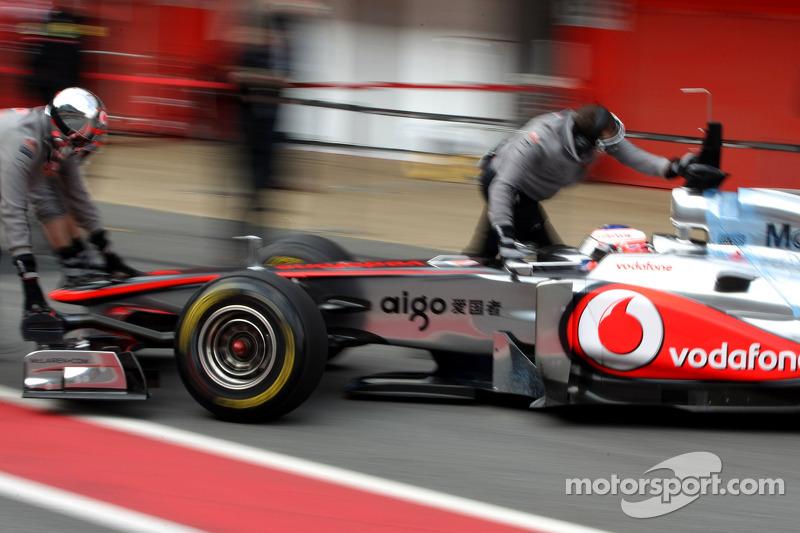 McLaren Barcelona test report 2011-03-11