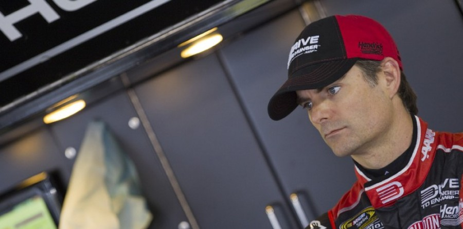 Jeff Gordon - Saturday media visit