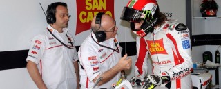 San Carlo Honda Gresini Friday report
