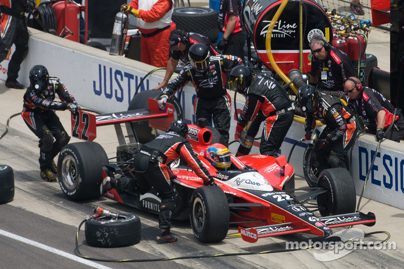 Dreyer & Reinbold Racing Indy 500 Race Report
