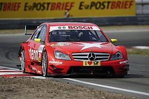 DTM Van der Zande hails 'perfect' Red Bull Ring test