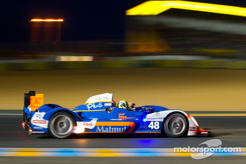 Team ORECA-Matmut P2 Le Mans Final Qualifying Report