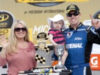 Edwards Gives Roush & Ford Michigan's Nationwide Victory