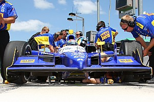 IndyCar Dreyer & Reinbold Racing Iowa Race Report