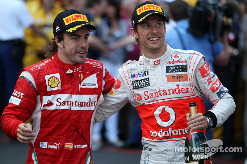 Alonso Would Be 'Great' Ferrari Teammate - Button