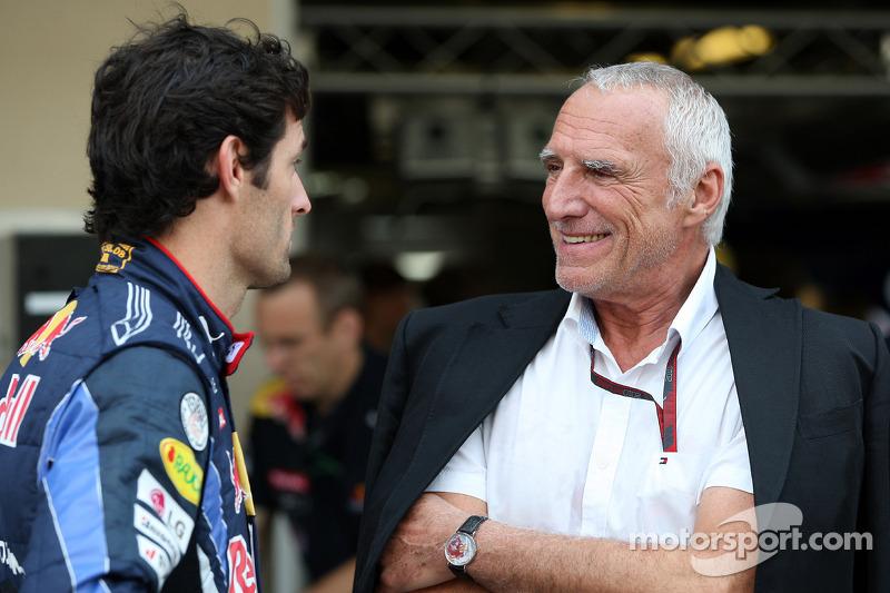 Mateschitz Confirms Webber Staying In 2012