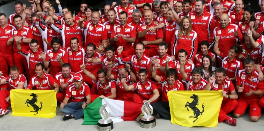 Ferrari Back In The Race After F1 British GP At Silverstone