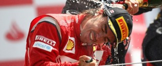 Formula 1 Ferrari Back In The Race After F1 British GP At Silverstone