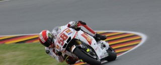 MotoGP Gresini Racing's MotoGP Friday German GP Report