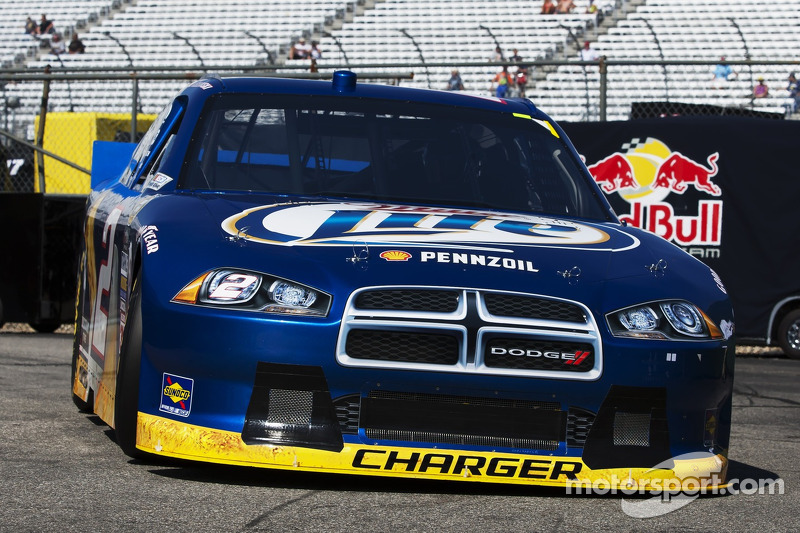 Brad Keselowski Loudon 301 Race Report