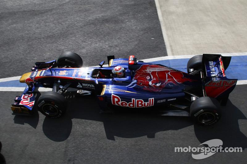 Toro Rosso German GP - Nurburgring Friday Practice Report
