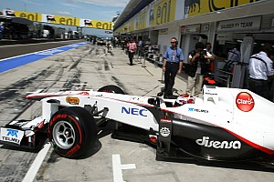 Sauber Hungarian GP Qualifying Report