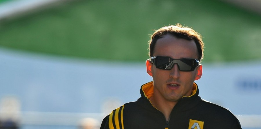 Report - Kubica Making Steady F1 Return From Injury
