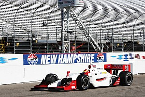 IndyCar Rahal Letterman Lanigan Racing Loudon test day report