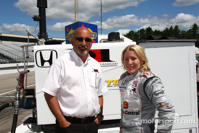 Rahal Letterman Lanigan Racing Loudon test day report