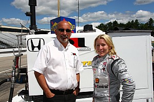 Pippa Mann medical update from RLL Racing