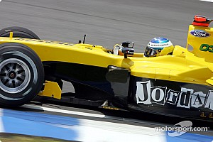 Formula 1 Jordan thinks Renault 'bullying' Heidfeld