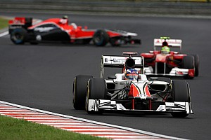 Formula 1 HRT drivers ready for Belgian GP at Spa