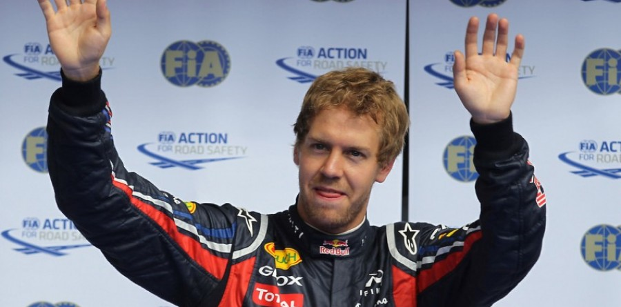 Again the smell of success for Vettel at Belgian GP