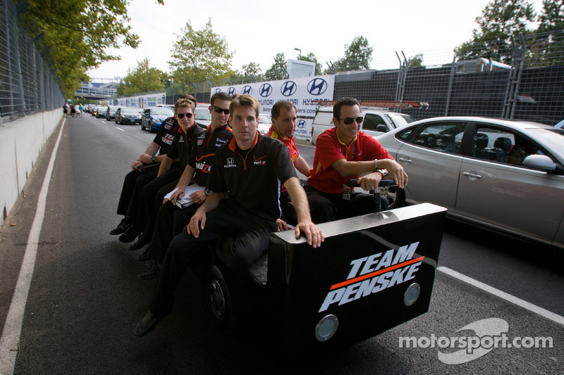 Team Penske Baltimore Friday report