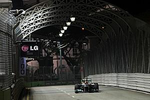 Mercedes Singapore GP qualifying report